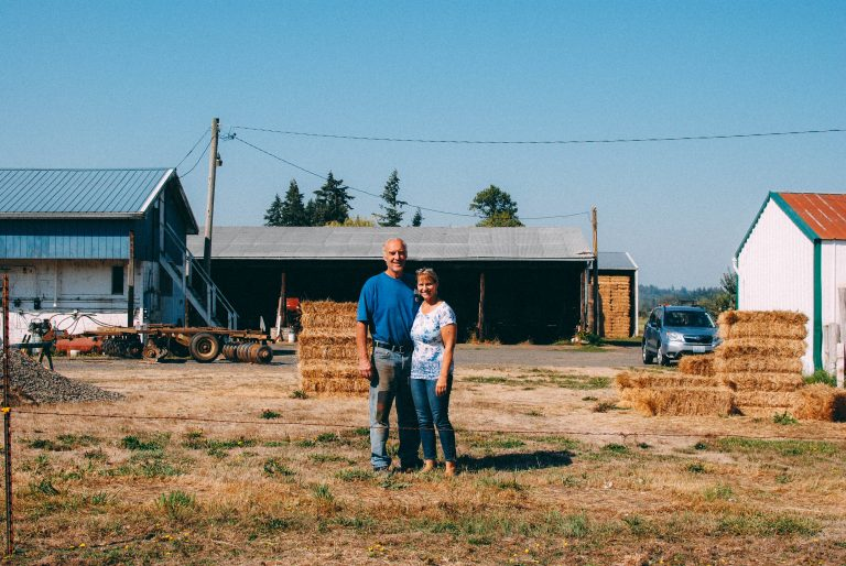 121 acres of organic farmland in Chehalis protected forever